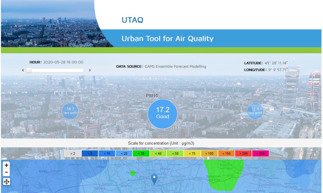 UTAQ (Urban Tool for Air Quality)